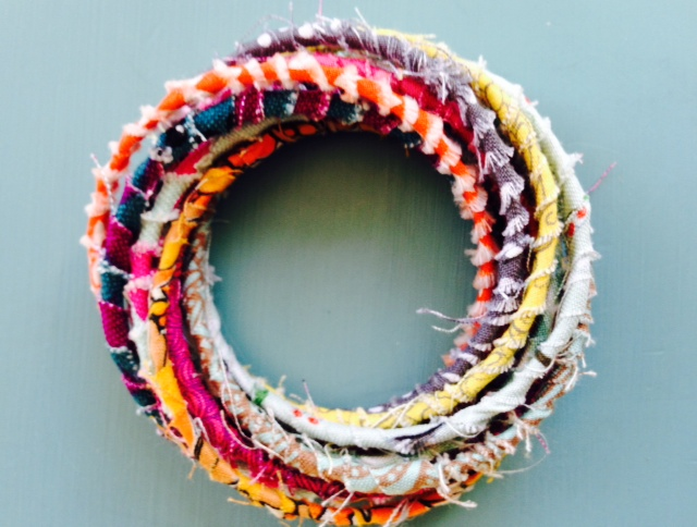 $25 at Goodwill – Project One- $2 Upcycled Bohemian Bracelets